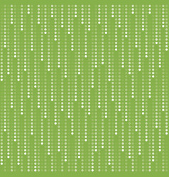 Greenery rain fall seamless pattern vector