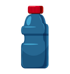 plastic bottles of cleaning product icon vector image