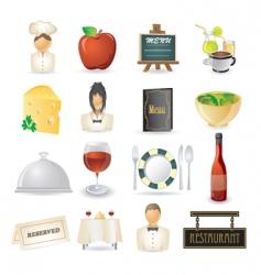 restaurant vector image