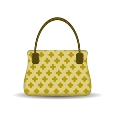 Womens handbag vector