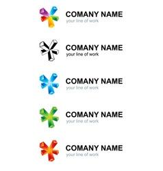 Branding logo vector