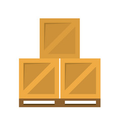 box shipping delivey icon image vector image