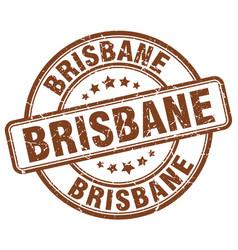 Brisbane stamp vector