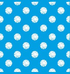 Dangerous planet pattern seamless blue vector