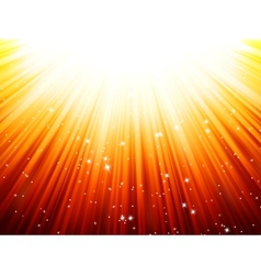 Sunburst rays of sunlight tenplate EPS 10 vector image vector image