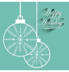 Happy holiday vector