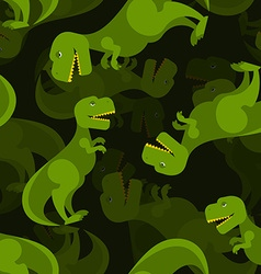 Dinosaur 3d background tyrannosaurus seamless vector