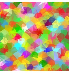 Abstract geometric polygonal colorful background vector image vector image