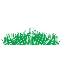 Grass herbage vector
