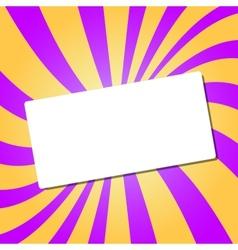 White card vector