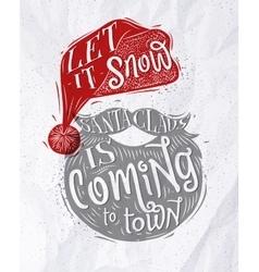 Poster Santa Claus vector image