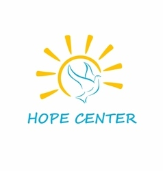 Hope center logo vector