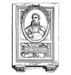 Christopher columbus vintage vector