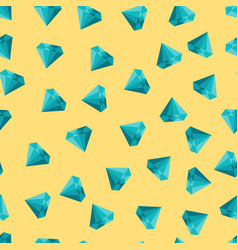 cute seamless texture with diamonds on vector image vector image