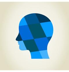 Head5 vector image vector image