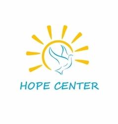 Hope Center Logo vector image vector image
