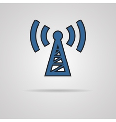 Transmitter icon vector image vector image