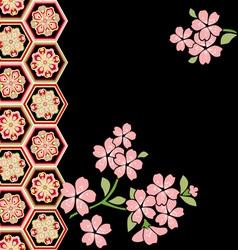 Cherry blossom festival vector