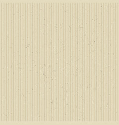 The texture of corrugated cardboard vector