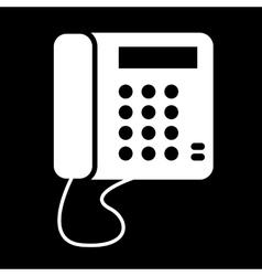 Communication call phone icon vector