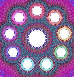 Bright psychedelic backdrop vector