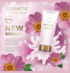 design cosmetics product vector image vector image
