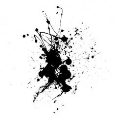 splatter vector image vector image