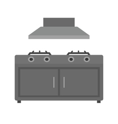 Cooking stove vector