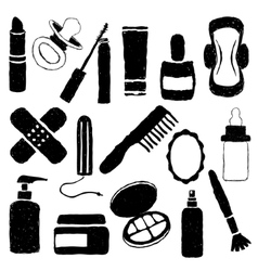 Drugstore doodle images vector