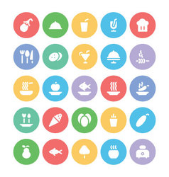 Food icons 11 vector