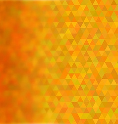 Abstract geometric triangular pattern with blurred vector image