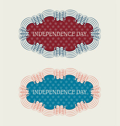 Best selection of holiday usa set vector