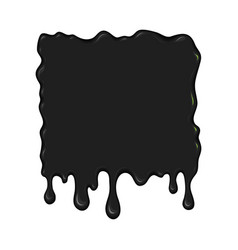 Blob of ink or oil vector