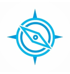 Compass icon or logo vector
