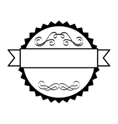 frame victorian decoration icon vector image vector image