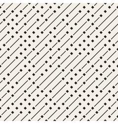 Seamless Geometric Diagonal Irregular Dash vector image