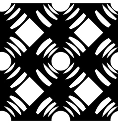 Seamless pattern with squares and circles vector
