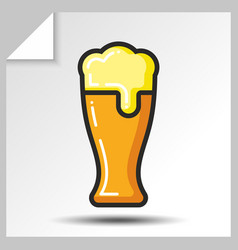 Beer icons 5 vector