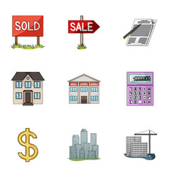 Real estate agency and other attributes realtor vector