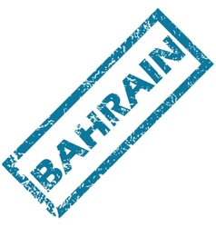 Bahrain rubber stamp vector