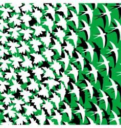 leafbird vector image