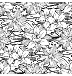 Graphic vanilla pattern vector