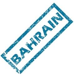 Bahrain rubber stamp vector