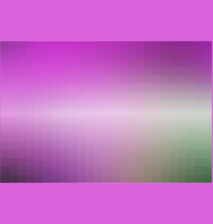 Purple green pink mosaic square tiles background vector