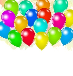 Set colorful balloons for your holiday vector image vector image