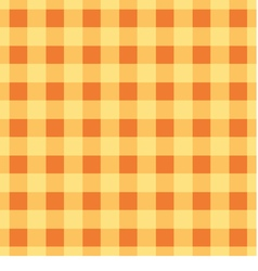 Simple plaid wallpaper The yellow brown tablecloth vector image vector image