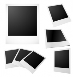 Printed photos vector
