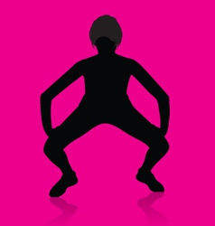 Girl Twerking vector image