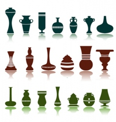 decorative objects vector image