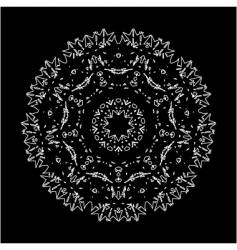 doily vector image